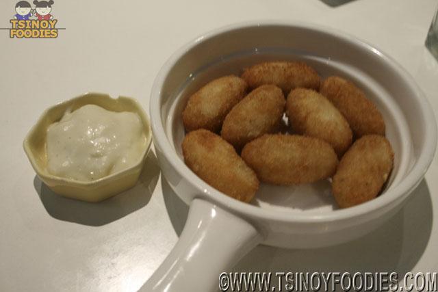 croquettas de pollo