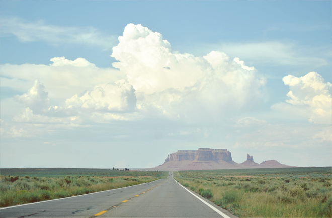 The Flyling Clubhouse: U.S. Route 163 Through Monument Valley