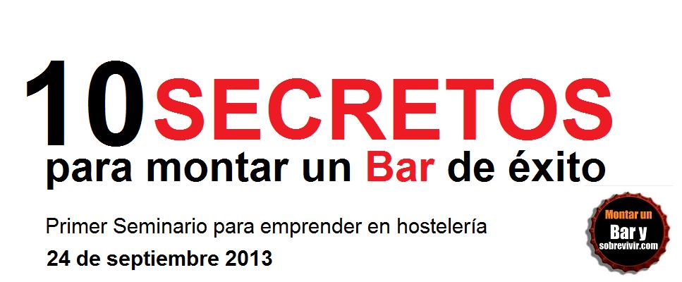 Montar un bar y sobrevivir 10 secretos para montar un bar - Presupuesto para montar un bar ...