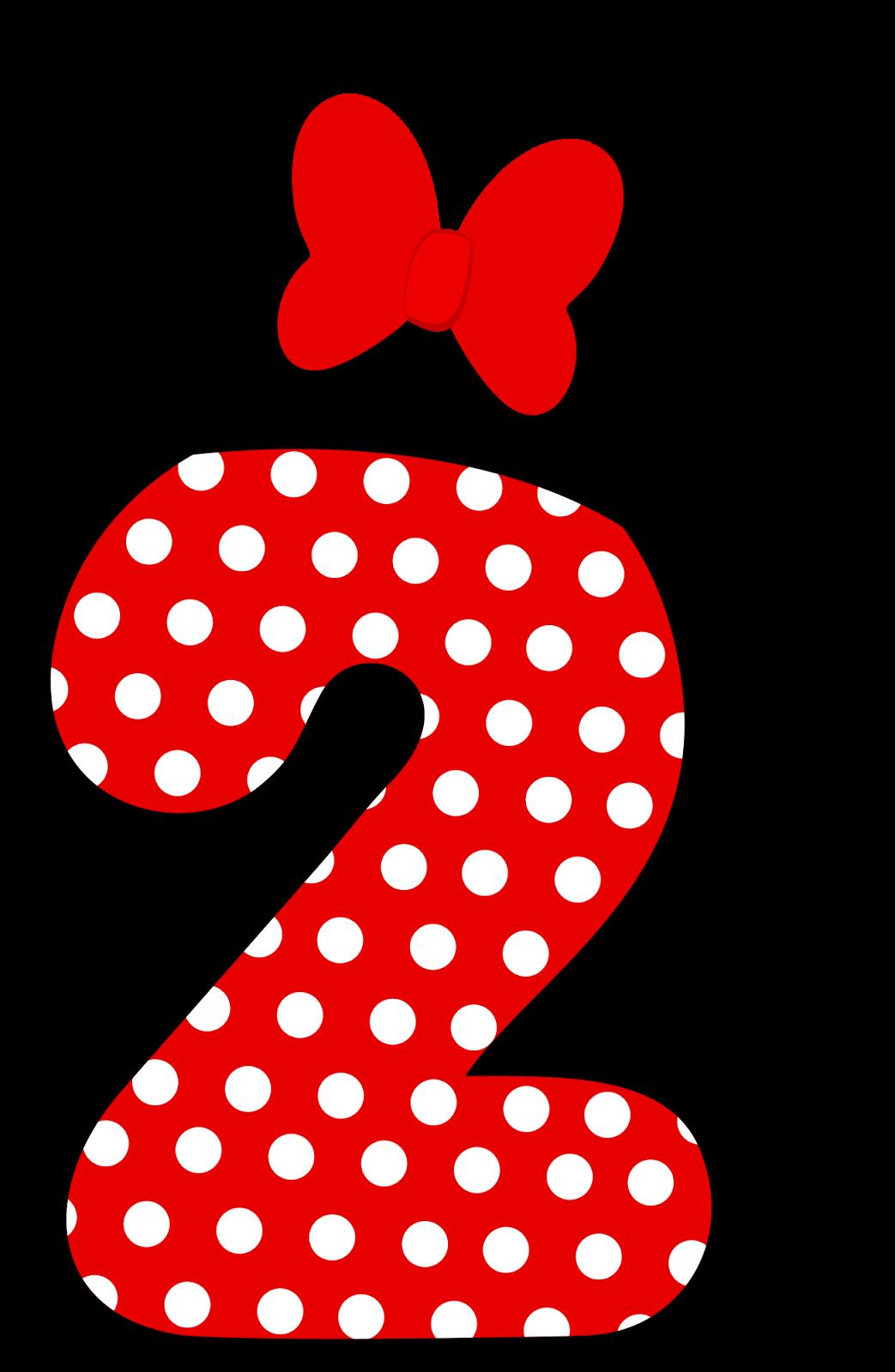Цифра 1 в стиле микимауса