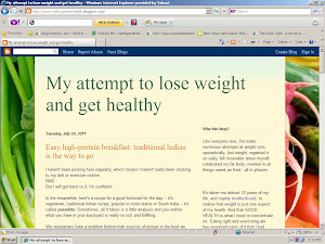 Waiting to lose weight (Click below to visit my other blog on getting healthy)