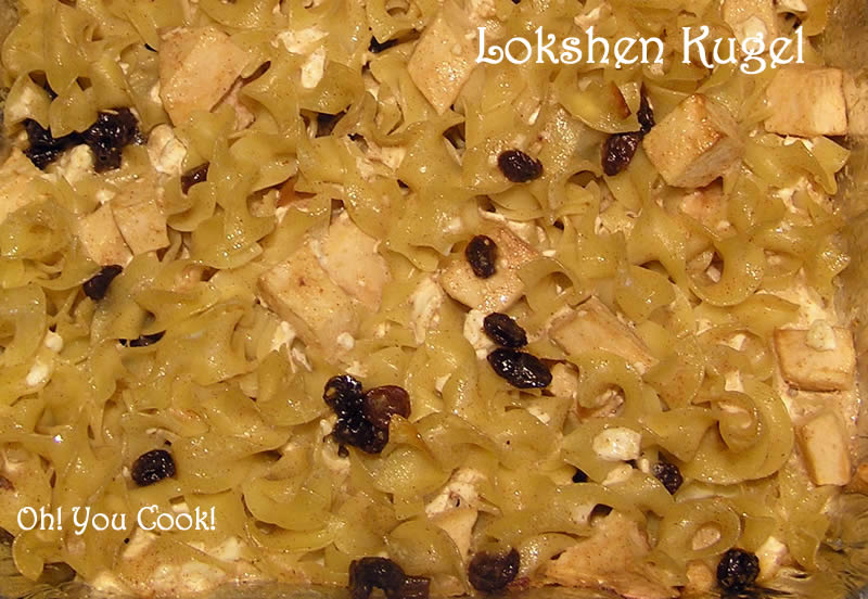 Sweet Lokshen Kugel Recipes — Dishmaps