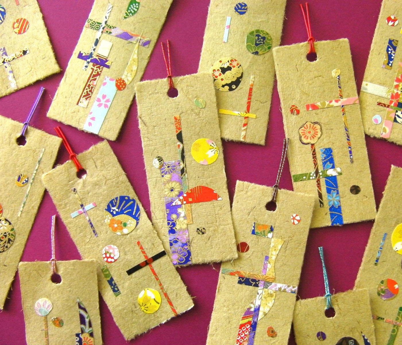 Fabuleux Marque-page en Yoshi-washi | Kami-art : Création en papier  TU81