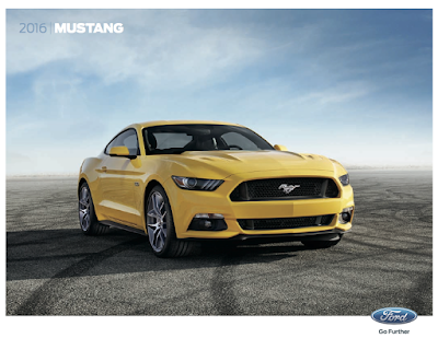Downloadable 2016 Ford Mustang Brochure