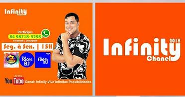 Programa Infinity Chanel , De seg a sexta ás 15:00hs com Helton Franklin