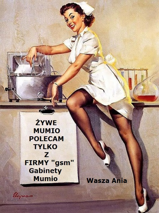 Mumio Żywe, czyli o zdrowiu..