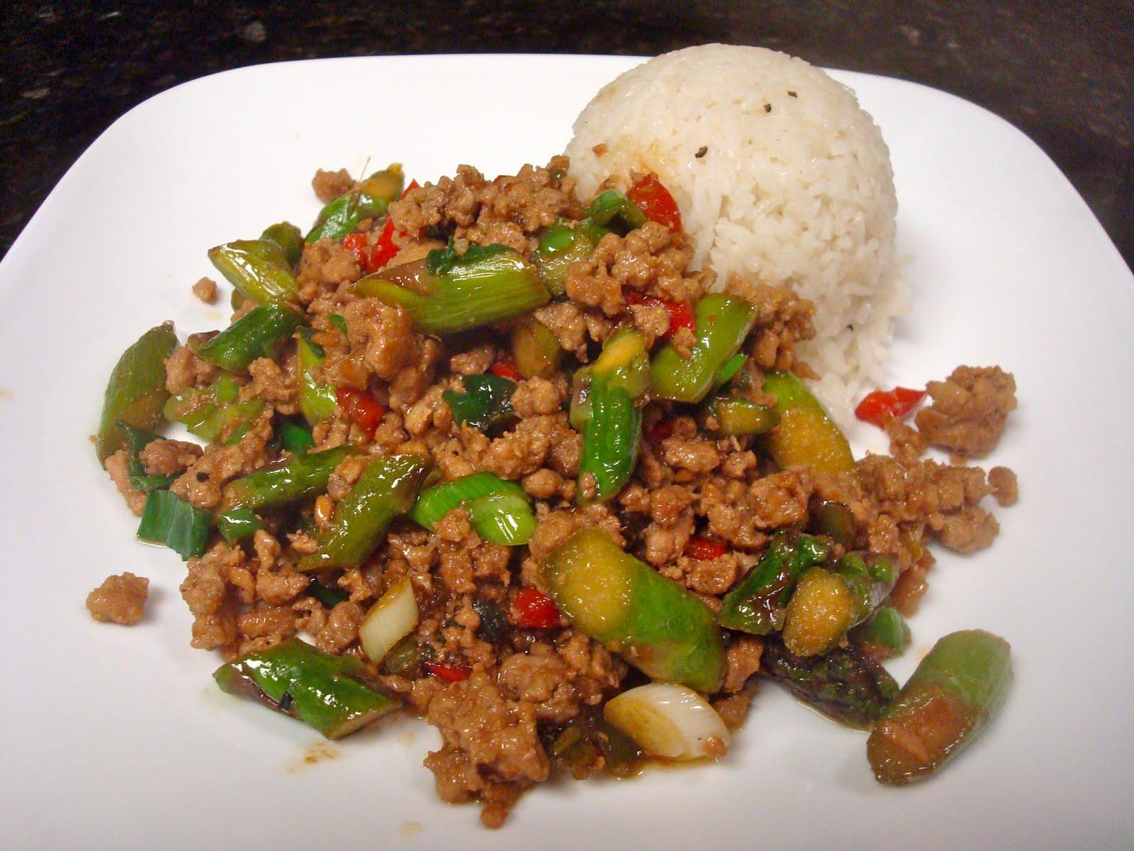 Oriental pork mince recipes