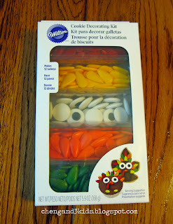 Turkey Cookie Decorating Kit by Wilton