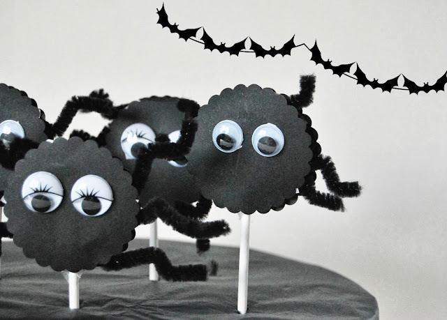 piruletas araña
