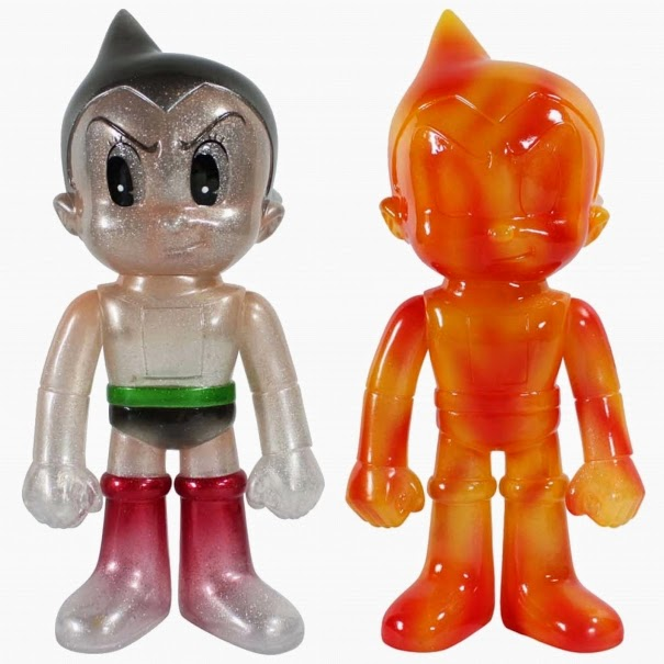 New York Comic Con 2014 Exclusive Astro Boy Hikari Vinyl Figures by Funko - Rice Candy Edition & Pyro Edition