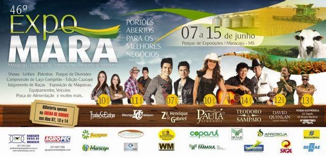 46ª Expomara Shows 2014
