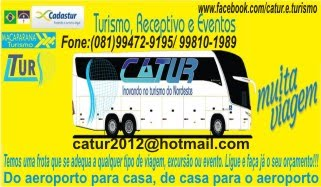 CATUR EXCURSÃO TURISMO
