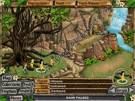 Free Download Games - Virtual Villagers 4 The Tree Of Life