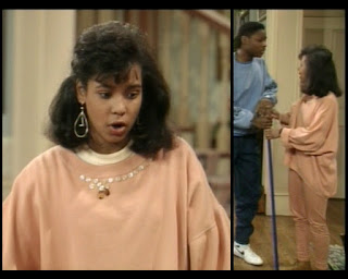 Cosby Show Huxtable fashion blog 80s sitcom Ana D. Zenon Lana Herman