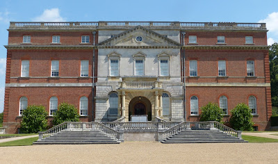 Clandon Park - front entrance (July 2014) © Andrew Knowles