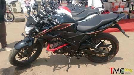Gambar New Honda CB150R black