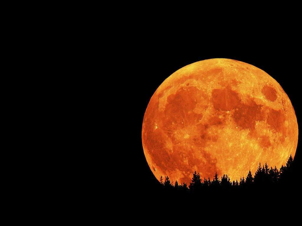 Red Full Moon Wallpaper Dark Red Hd Wallpaper ...
