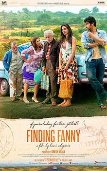 full cast and crew of bollywood movie Finding Fanny with poster, trailer ft Arjun Kapoor and Deepika Padukone