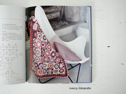 Granny Squares: Häkeln im Quadrat. | rosa p.