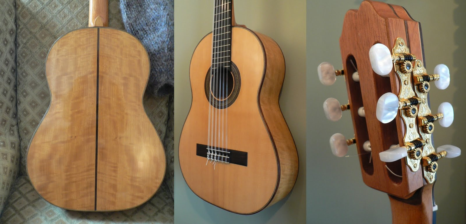 how to put strings on a classical guitar