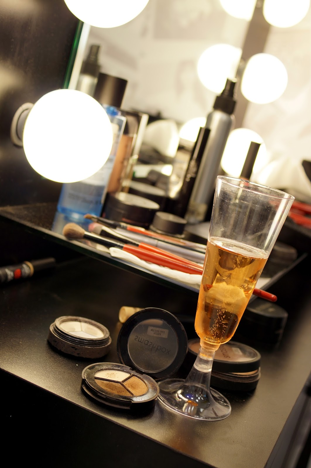 Champagne and Makeup