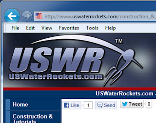 USWaterRockets launches their all-new Water Rocket website