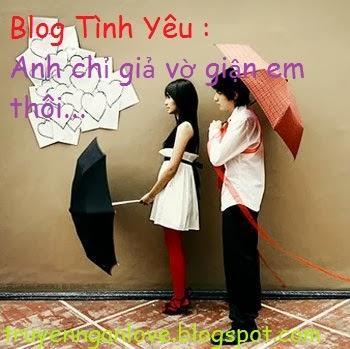 Blog Tình Yêu : Anh chỉ giả vờ giận em thôi...