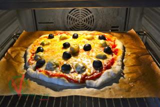 masa Para Pizza (sin Amasar)