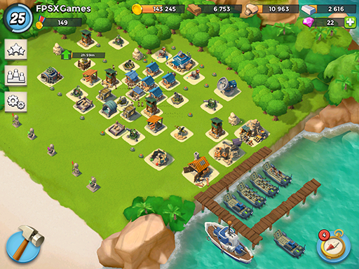 IOS games like Supercell Boom Beach