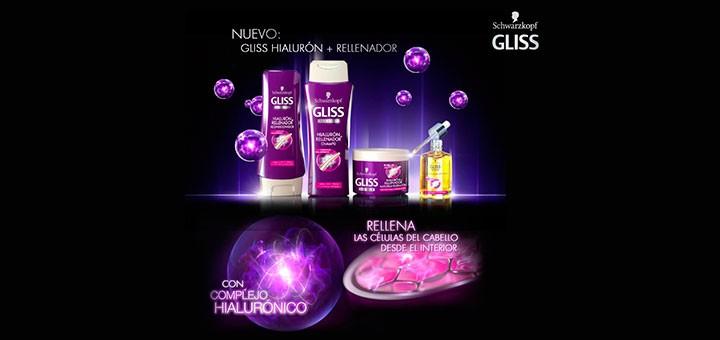 PRUEBA GRATIS EL NUEVO CHAMPU DE GLISS