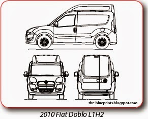 Vector blueprints cars trucks busses and others fiat vector httpautomotive blueprints malvernweather Choice Image