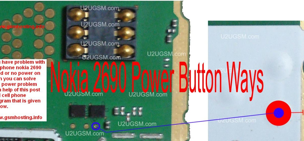 Cellfirmware  Nokia 2690 Power Button On Off Problem Ways