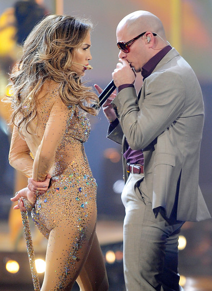 You Know  This Might Be Asked From Pitbull Or Jennifer Lopez  J LO