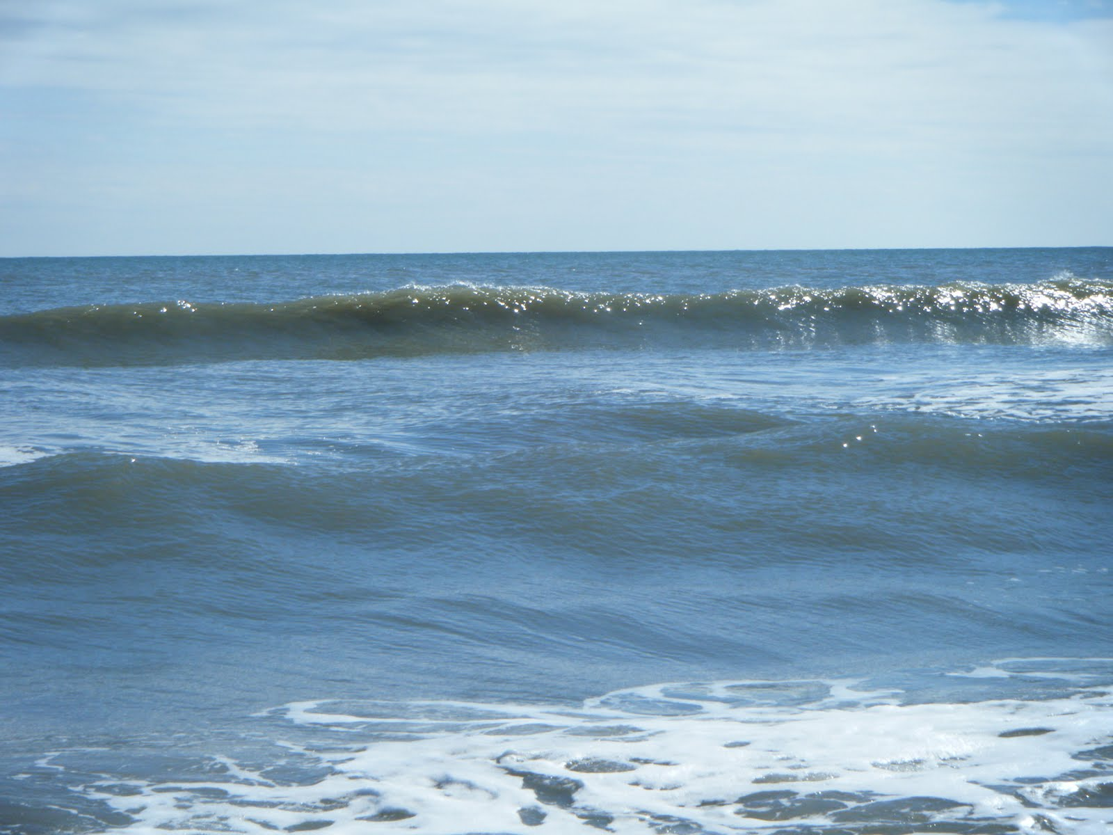 atlantic paddle surfing fun clean 2 ft waves
