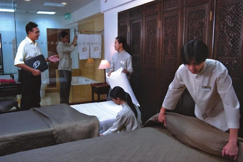 tuyển dụng nhân viên phục vụ buồng phòng khách sạn tại Macao