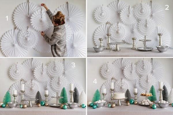 Mesa de Natal DIY