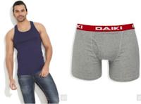Paytm : Get 40% Cashback on Men's Innerwear :buytoearn