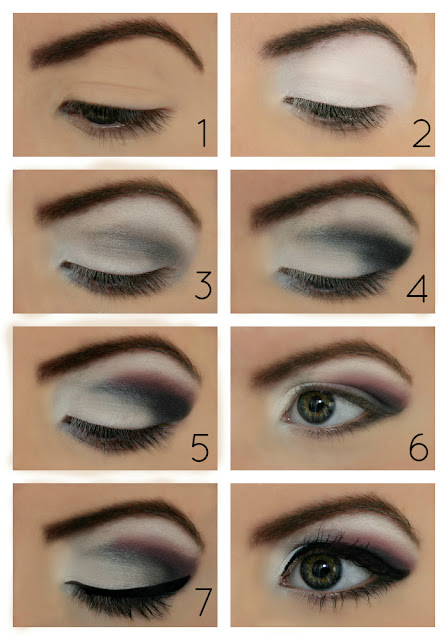 Tutorial  7 Step Smokey EyeSmokey Eye Tutorial Step By Step For Blue Eyes