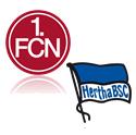 FC Nürnberg - Hertha BSC