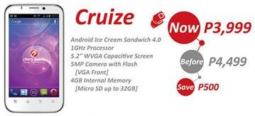 cherry mobile cruize, cherry mobile