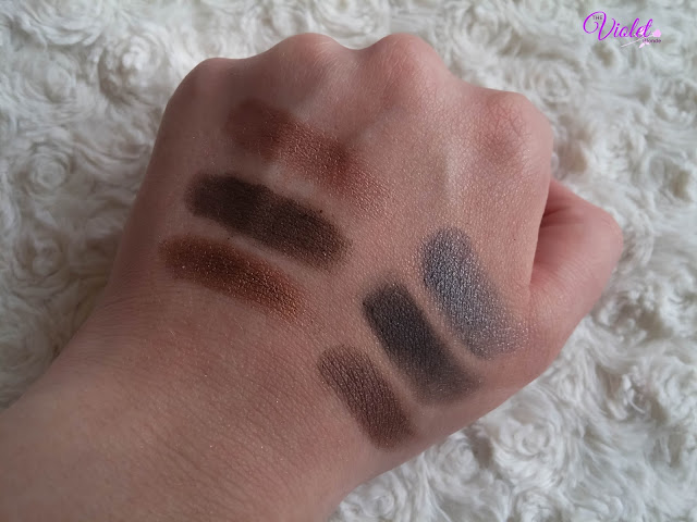 urban decay original naked swatches
