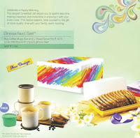 Tupperware Breakfast Set ( Bread Server + Cofee Mugs) MM Round #1 Free