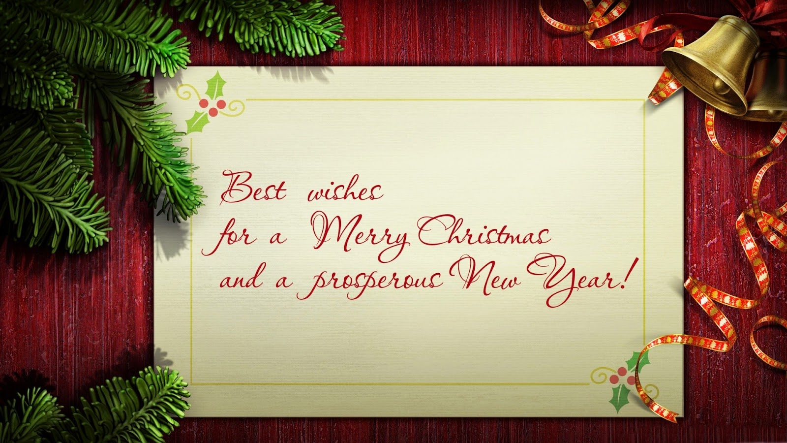 i wish merry christmas to you and your family