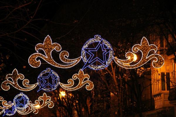Luces navidad Donostia