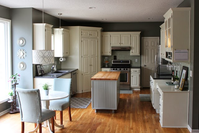 Kitchen paint colors for walls and cabinets