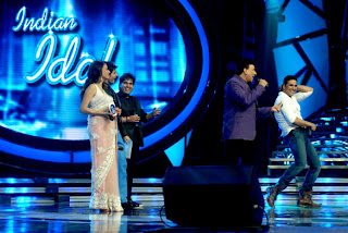 Asha Bhosle unveil the  'OMG Oh My God!' Audio on Indian Idol