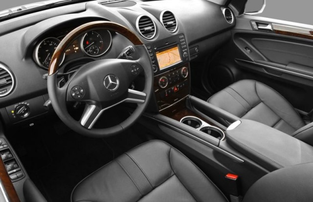 Mercedes Benz Ml350 Interior. 2011 Mercedes-Benz ML350