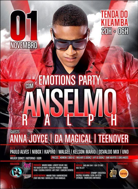 Emotions Party Com Anselmo Ralph 01/11/14