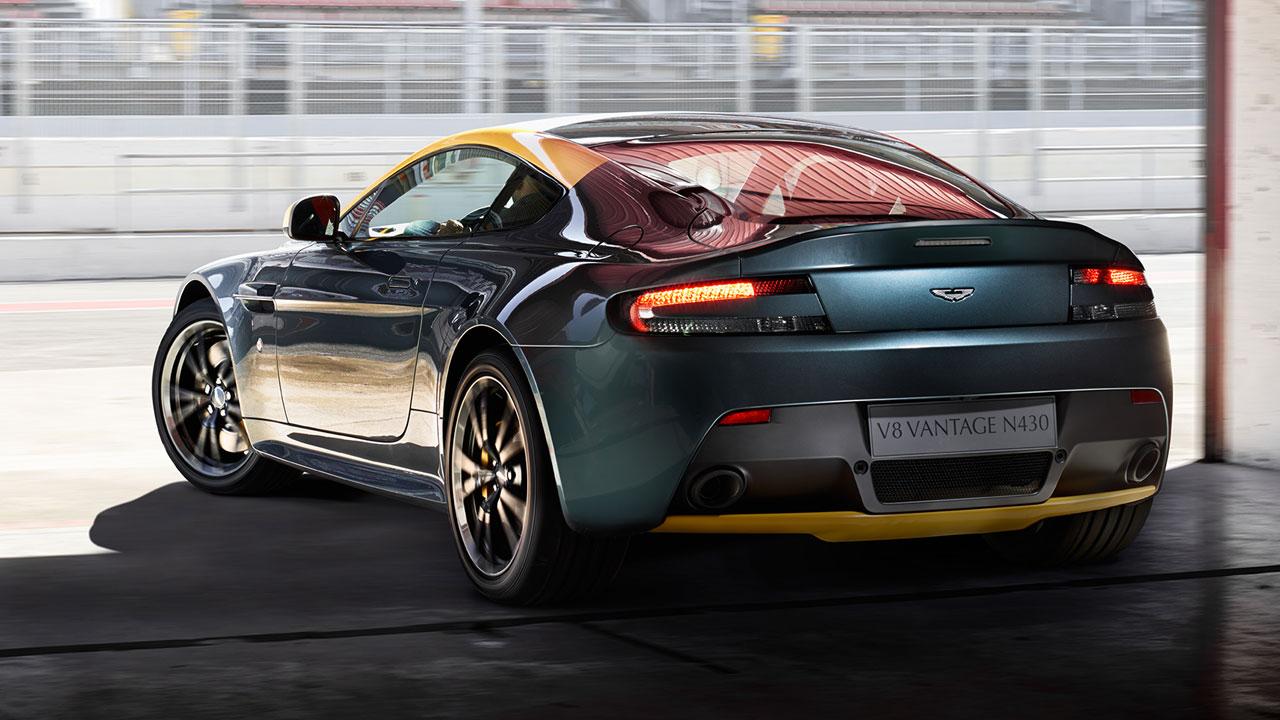 Aston Martin V8 Vantage N430 rear