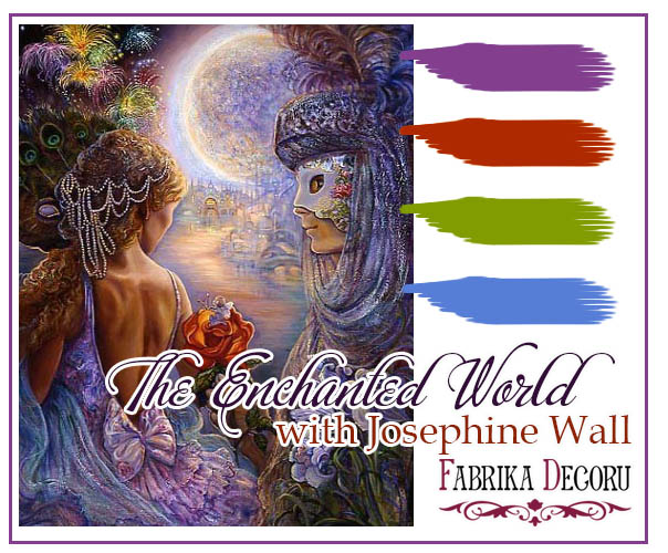 +++Задание апреля. The Enchanted World with Josephine Wall до 30/04